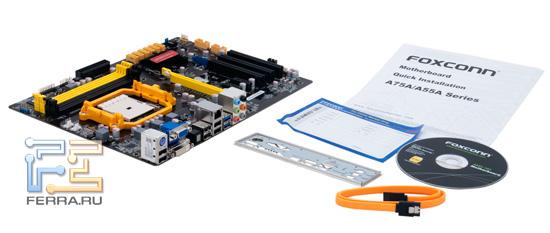 Комплектация Foxconn A75A