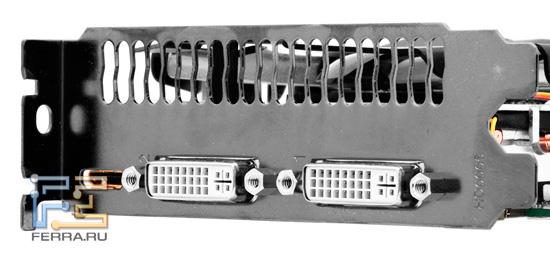 Задняя панель Gigabyte GV-N56GSO-1GI