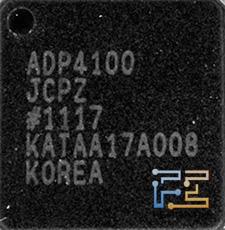 Gigabyte GV-N56GSO-1GI, ШИМ-контроллер ADP4100