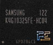 Микросхема памяти Samsung K4G10325FE-HC04