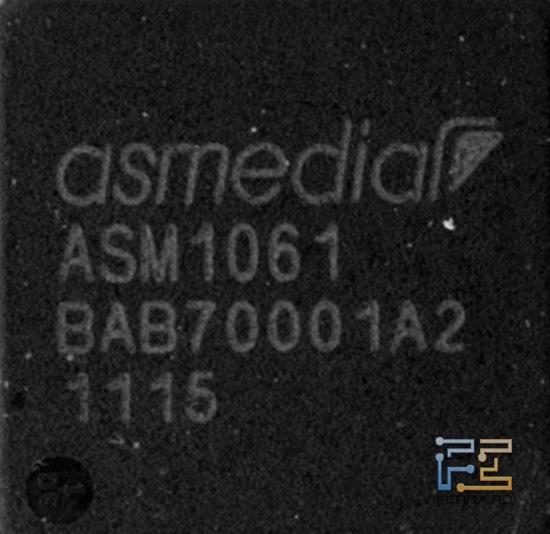 SATA контролер ASMedia ASM1061
