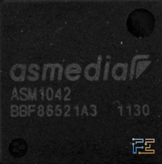 USB 3.0 контролер ASMedia ASM1042