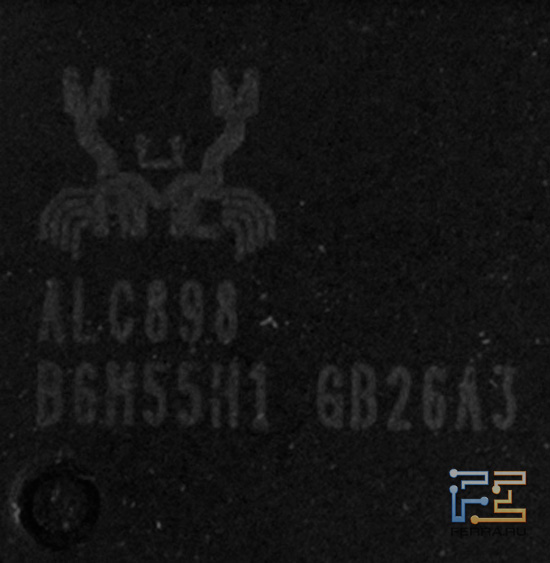 Звуковой кодек Realtek ALC898