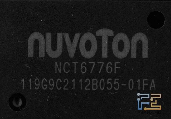 Микросхема Multi-IO Nuvoton NCT6776F