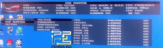 OC KEY OSD Monitor