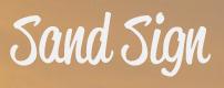 Sand Sign logo
