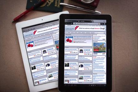iPad 2 и Samsung Galaxy Tab 10.1