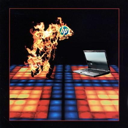 Ноутбук жжет