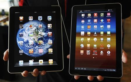 Apple iPad � Samsung Galaxy Tab 10.1