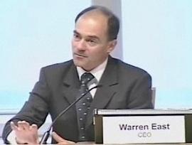 Warren East, CEO ARM