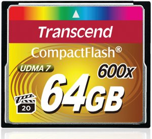 Transcend CompactFlash 600X