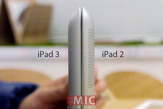 ��������� iPad 2 � ��������� iPad 3