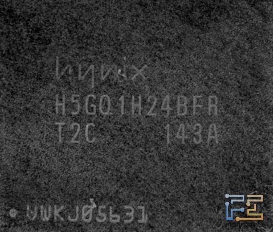 Микросхема видеопамяти HIS Radeon HD 6930