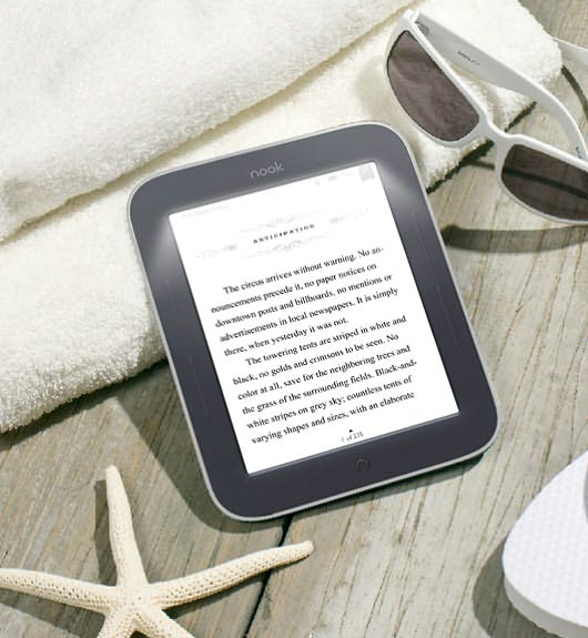 NOOK Simple Touch � GlowLight