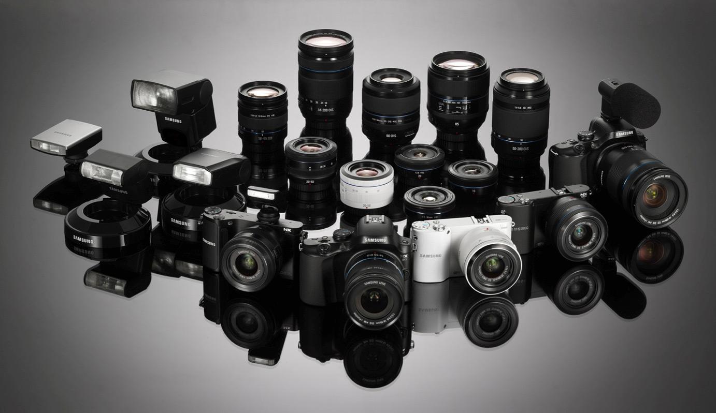 Много фотоаппаратов картинка