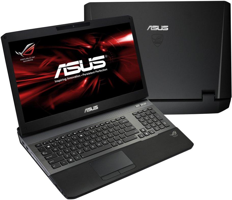 Игровые ноутбуки asus g75vw и g55vw на intel ivy