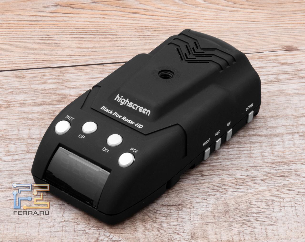 Видеорегистратор black box radar hd