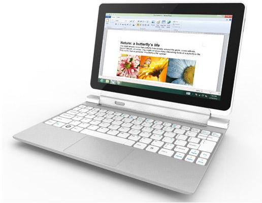Acer Iconia W510 с док-станцией