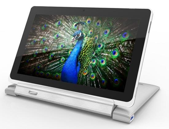 Acer Iconia W510 с развернутым экраном