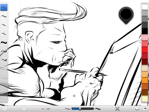 SketchBook Ink ��� iPad