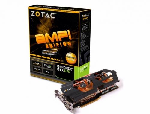 ���������� Zotac GTX 670 AMP!