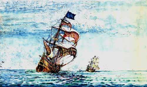 Пиратство до эры информационных технологий