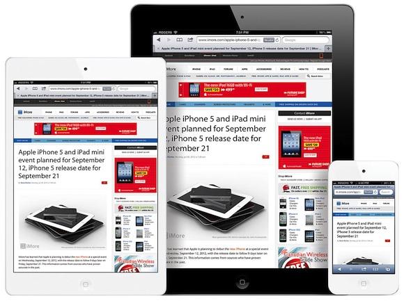 iPad mini, iPad � iPod touch, �����