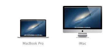 MacBook Pro и iMac