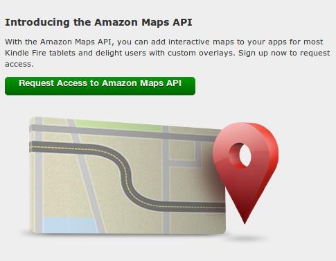 Amazon занялся разработкой собственного картографического сервиса