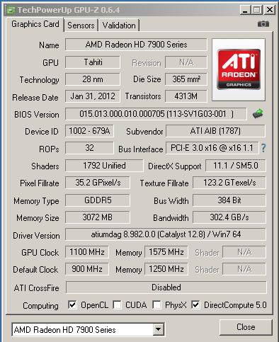 �������������� HIS IceQ HD7950 � �������