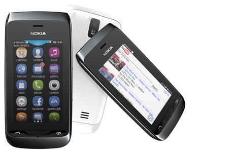 Nokia Asha 309 позиционируется как телефон на все случаи жизни