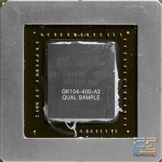 Графический процессор GK104