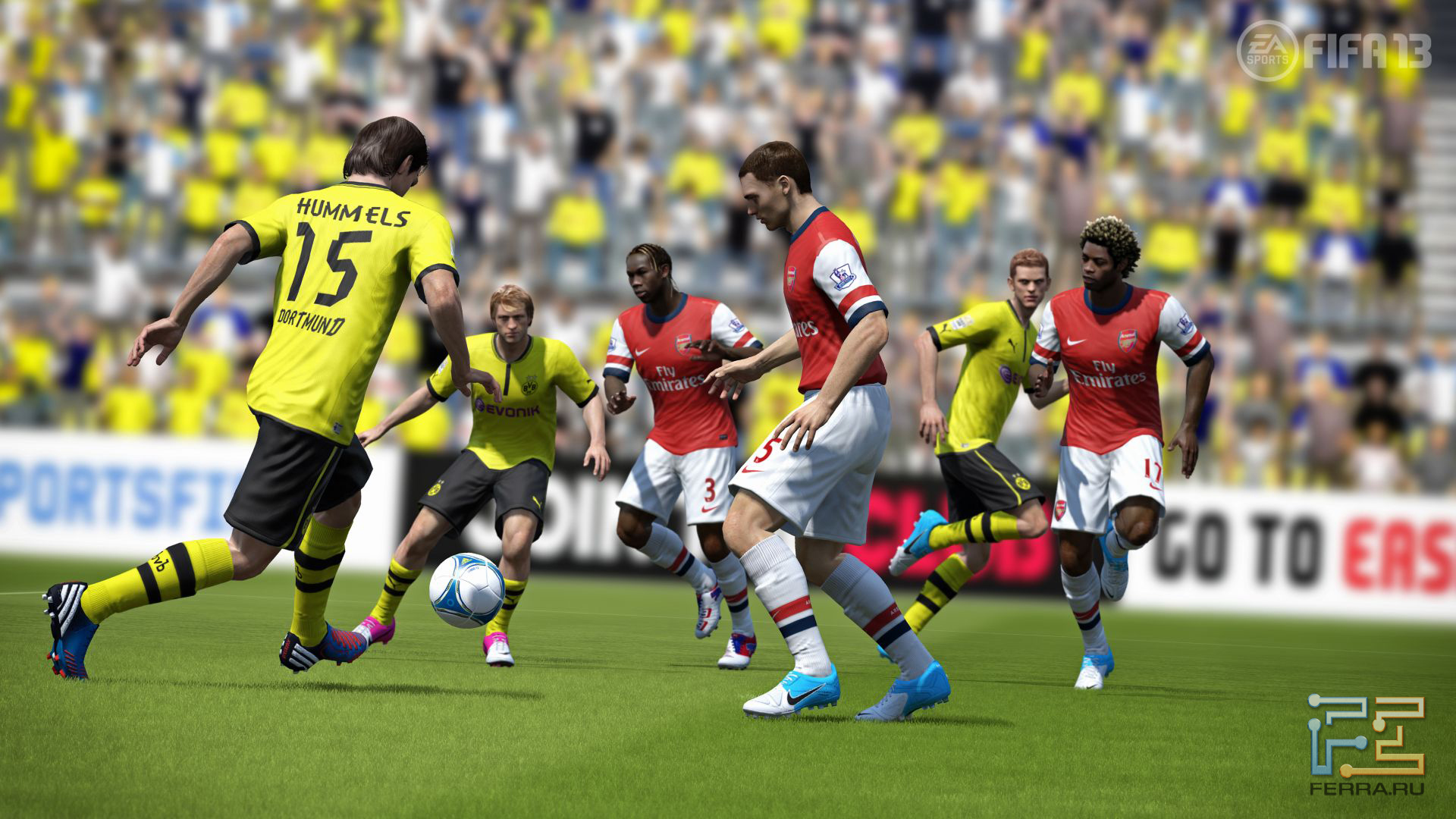 Обзор игры FIFA 13
