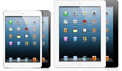 iPad mini � iPad 4