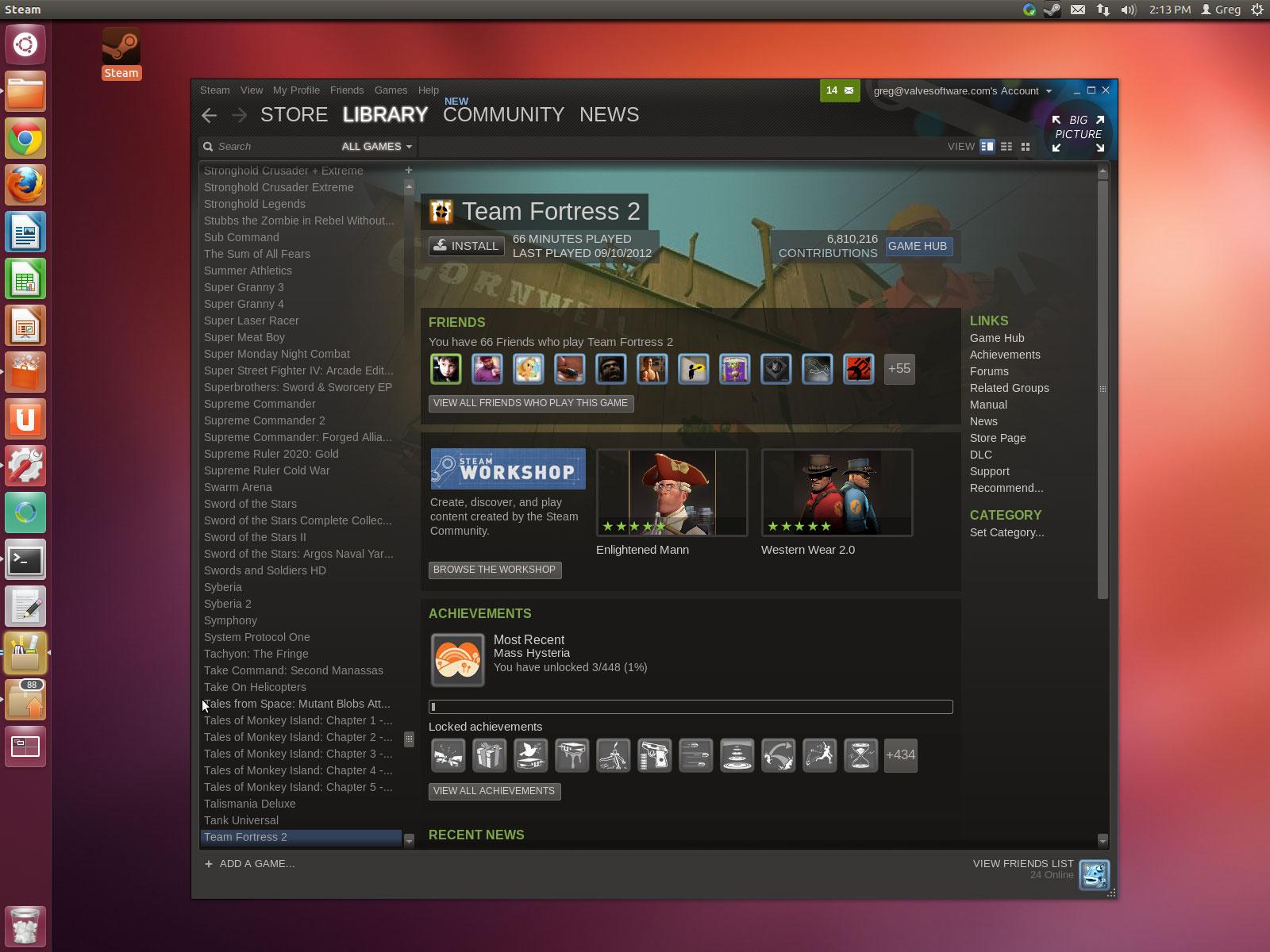 Steam for linux как создать оружие в кс го и бегать с ним