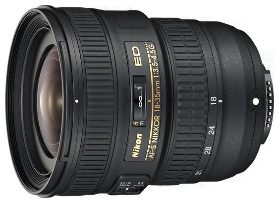 AF-S NIKKOR 18–35mm f/3.5–4.5G ED