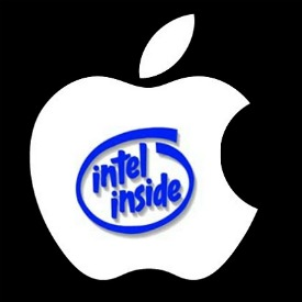 Apple. Intel Inside