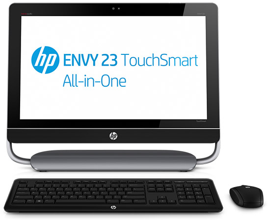 HP Envy TouchSmart 23