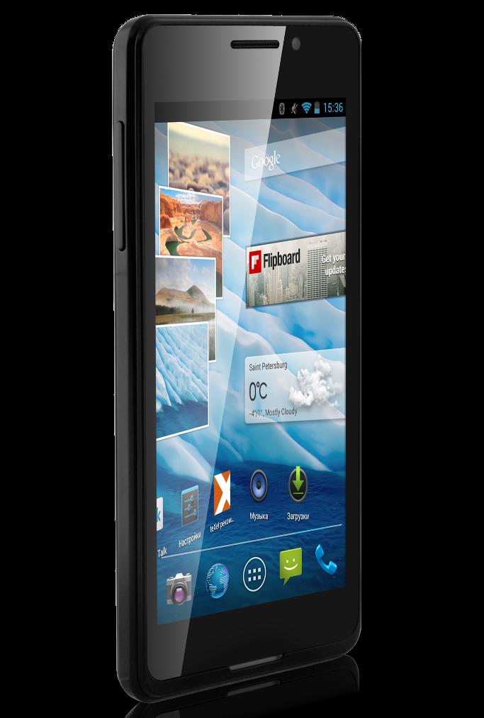 Продвинутый смартфон от teXet TM-4677 в тонком корпусе за 8 тысяч рублей