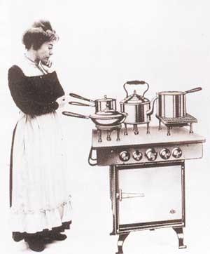 Первая электрическая плита AEG