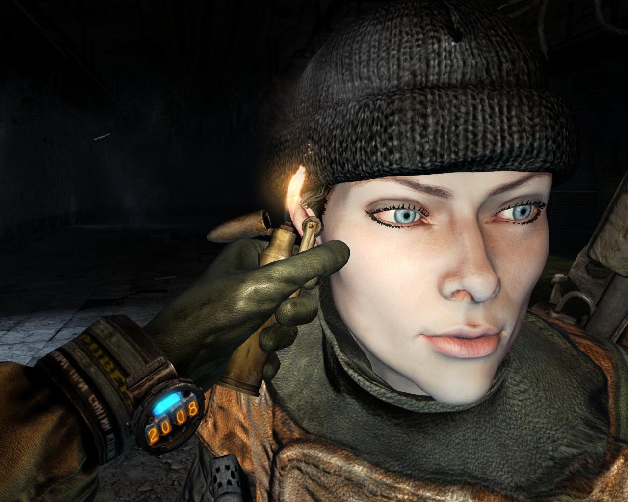 лицо артёма из метро 2033 картинки