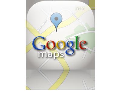 Лого Google Maps