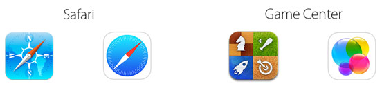 Icons in iOS 6 and iOS 7