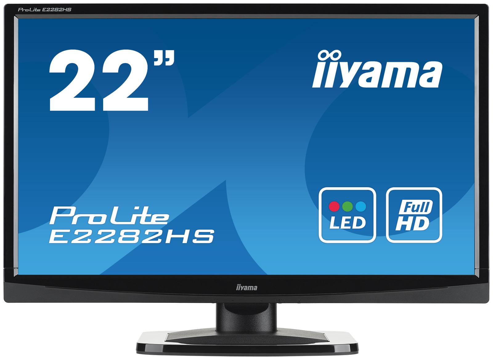 22-дюймовый монитор iiyama E2282HS-1 для практичных