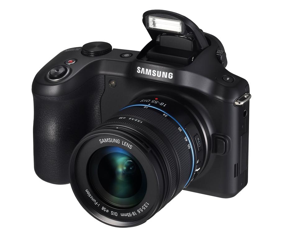 Камера Samsung Galaxy NX со сменной оптикой работает под управлением ОС Android и оснащена средствами подключения...