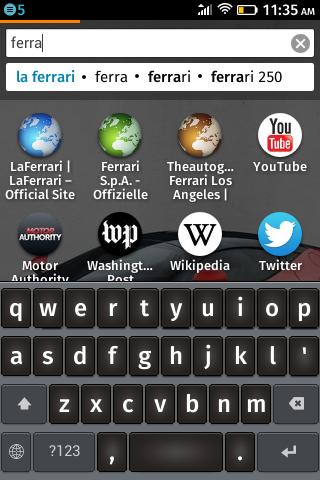 ���������� ������ �� ZTE Open �� Firefox OS