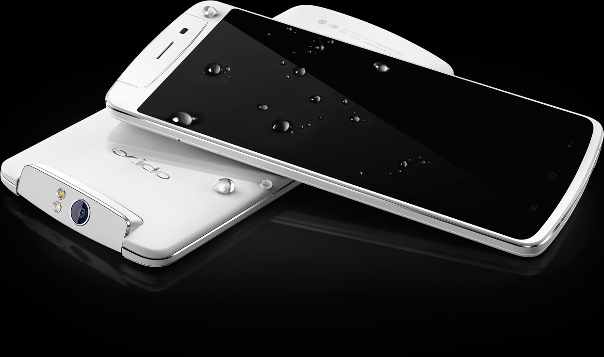 Смартфон Oppo N1 получил вращающуюся 13 Мп камеру, официально