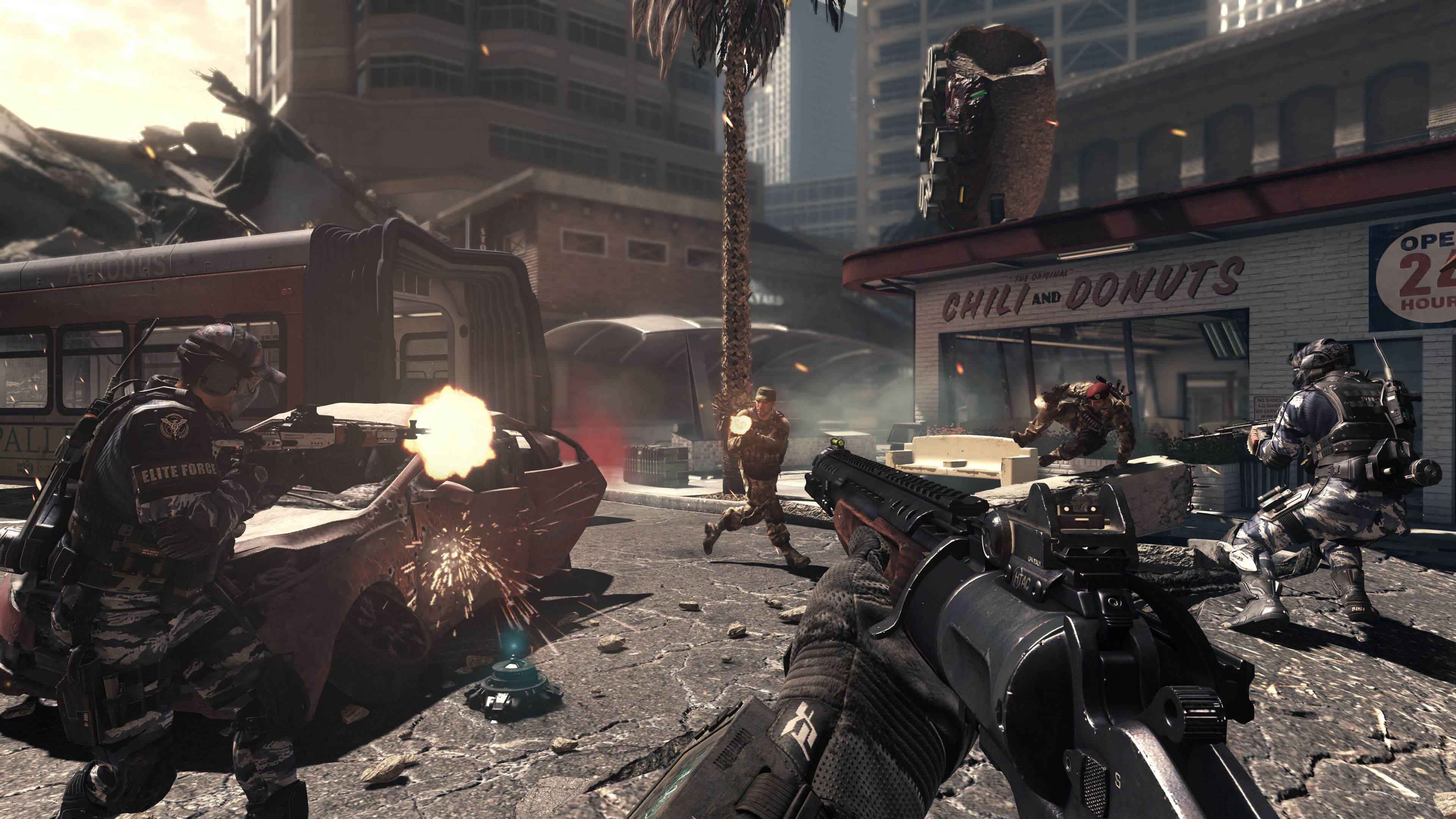 Игры Call Of Duty 4 Modern Warfare На Компьютер