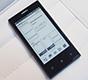 CeBIT 2014. Первый воззрение на Onyx InkPhone - телефоны с черно-белыми дисплеями еще раз в моде