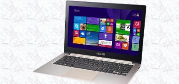 Asus запускает в продажу два новых ультрабука Zenbook